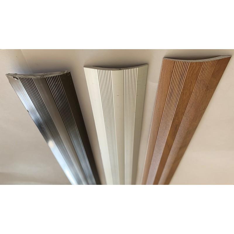 Aluminum cover trim