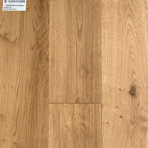 Engineered Floor - Natural Oak